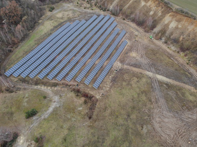 1MW PV Power Plant Construction Mechanical & Electrical Installation Works
