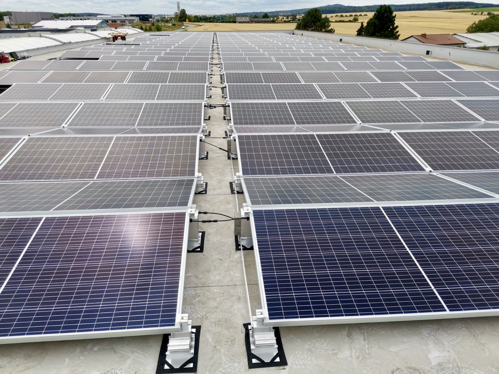 1MW Full Scope Rooftop PV Works Mechanical & Electrical Works